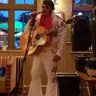 Ian Coulson as ELVIS Elvis Tribute Band