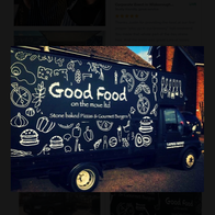 Good Food On The Move Pizza Van