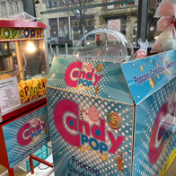 Candy Pop Popcorn Cart