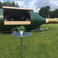 Prosecco Bottle Bar Catering