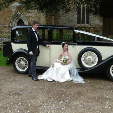 Celestial Cars - Transport , Southam,  Vintage Wedding Car, Southam