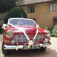Classic Volvo Amazon Wedding Car Hire Chauffeur Driven Car
