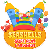 Seashells Softplay and Inflatables Party Tent