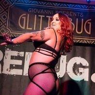 Raven Burlesque Dancer