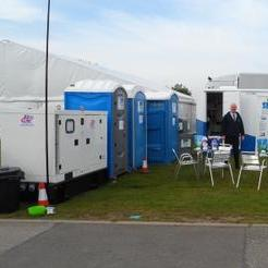 S R P TOILET HIRE LTD - Event Equipment , Lincoln,  Portable Loo, Lincoln