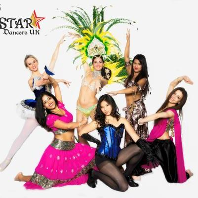 Star Dancers UK - Dance Act , London,  Bollywood Dancer, London Belly Dancer, London Burlesque Dancer, London Ballet Dancer, London Dance Troupe, London Dance Instructor, London Latin & Flamenco Dancer, London Irish Dancer, London Dance show, London