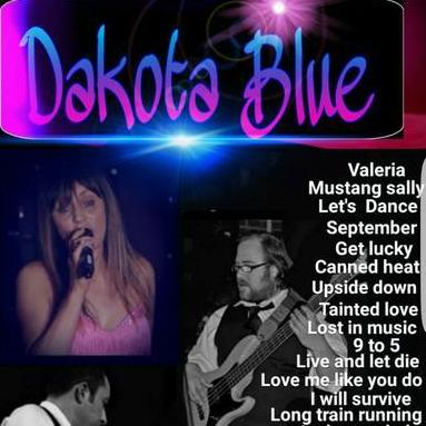 Dakota Blue - Live music band , Devon,  Function & Wedding Band, Devon Pop Party Band, Devon Funk band, Devon Electronic Dance Music Band, Devon Disco Band, Devon