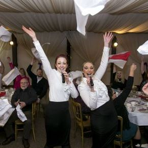 The Bel Canto Singer Waiters Singing Waiters