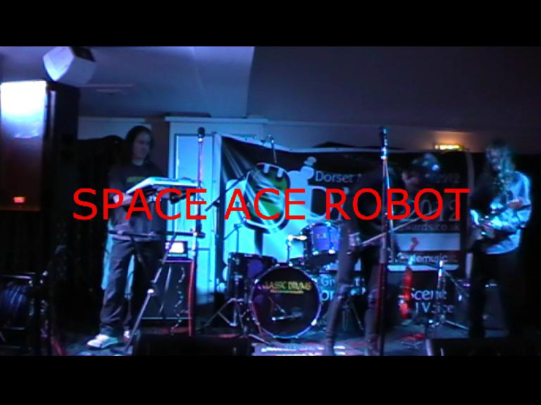 Space Ace Robot - Live music band Dance Act  - Troon - Ayrshire photo