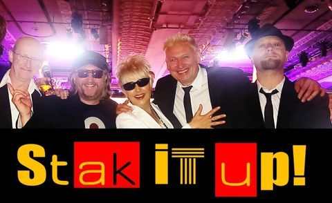Stak It Up! - Live music band , Nottingham,  Function & Wedding Band, Nottingham Soul & Motown Band, Nottingham Pop Party Band, Nottingham Funk band, Nottingham