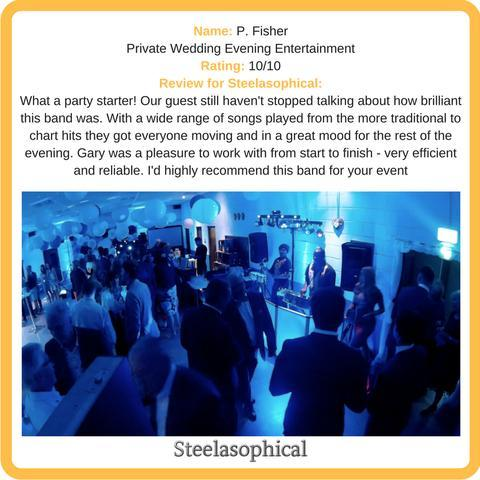 Steelasophical Steel Band & Dj - Live music band , London, Solo Musician , London, World Music Band , London, DJ , London,  Steel Drum Band, London Mobile Disco, London Reggae Band, London Party DJ, London Disco Band, London
