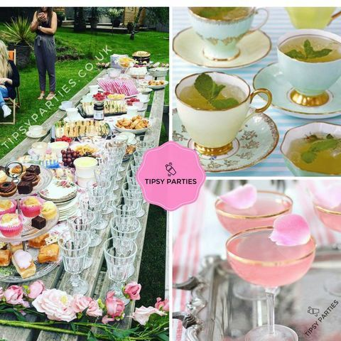 Tipsy parties Afternoon Tea Catering