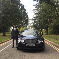 Nandra Chauffeur Services Wedding car