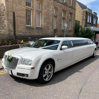 Braveheart Limousines Wedding car