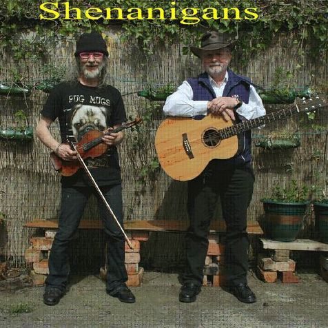 Shenanigans Irish Music Duo - Live music band , Buxton, World Music Band , Buxton,  Irish band, Buxton Acoustic Band, Buxton Live Music Duo, Buxton Folk Band, Buxton
