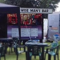 Wise Man's Bar Mobile Bar