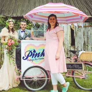 Pinks Vintage Ice Cream Vans & Tricycles Mobile Caterer
