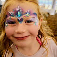 Glitter-Arty Face Painting Face Painter