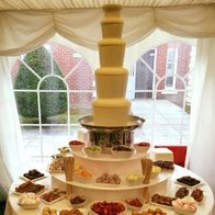 Choc N Dip chocolate fountain hire Popcorn Cart