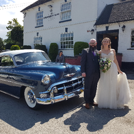 Classic American Wedding Cars Transport