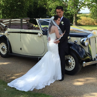 Open Top Daimler Wedding Cars Transport