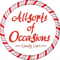 Allsorts of Occasions Sweets and Candies Cart