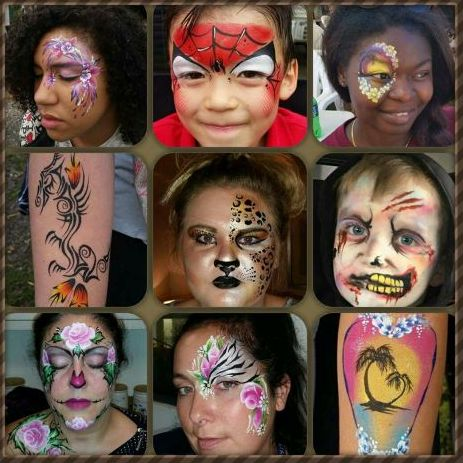 Bugz & Butterflies Face Painter
