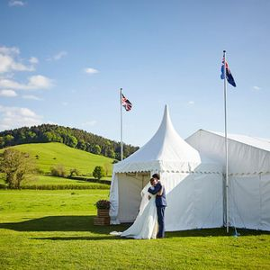 The Marquee Hire Company Tipi