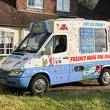 Soft Creams of Surrey Ice Cream Cart
