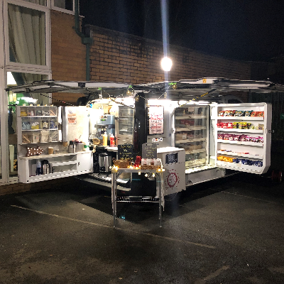 Mobile Gourmet Kitchen Burger Van