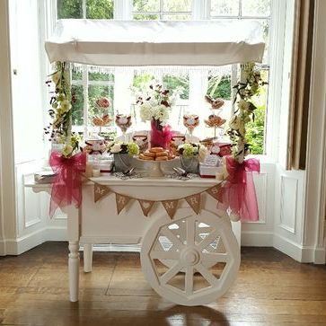 Scrumdiddly-YUM-ptious Sweets and Candies Cart