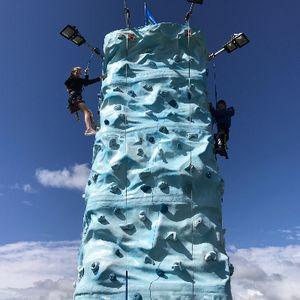 Stewarts Amusements Mobile Climbing Wall