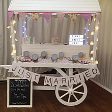 Sweet Galore Sweets and Candies Cart