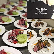 Fine Dining with Liz Jackson Dinner Party Catering