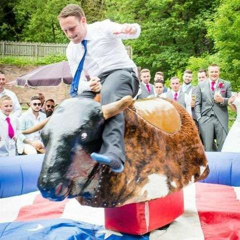 Rodeo Bull Wales - DJ , Barry, Children Entertainment , Barry, Event Equipment , Barry,  Wedding DJ, Barry Foam Machine, Barry Snow Machine, Barry Bouncy Castle, Barry Mobile Disco, Barry Karaoke DJ, Barry Party DJ, Barry