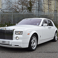 Phantom Limo Hire Ltd Wedding car