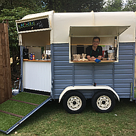 Litttle Flo's tuck box Food Van