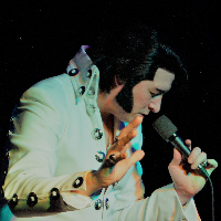 Hire James Burrell as Elvis Presley for your event in Exeter
