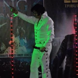 Elvis In Concert By Andy James Elvis Tribute Band