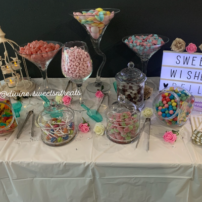 Divine Sweets 'n' Treats Sweets and Candy Cart