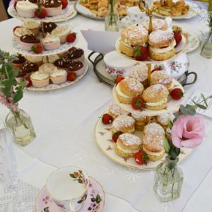 Carols Vintage China Hire Event Equipment