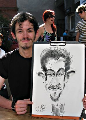 CHRIS PAVLICK - THE CARICATURIST - Caricaturist  - Bristol - Avon photo