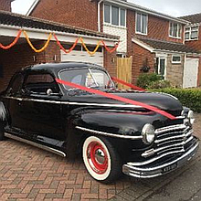 M Woolf Car Hire Vintage & Classic Wedding Car