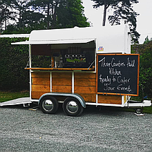 Three Counties Field Kitchen Pizza Van