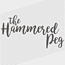 The Hammered Peg Bar Staff