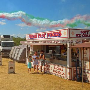 Farrs Catering Group Ltd Ice Cream Cart