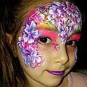 Kaleidoscope Faces Face Painter
