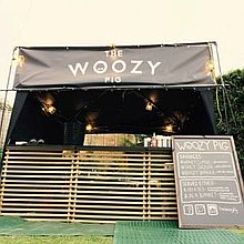 The Woozy Pig Food Van