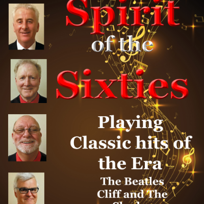 Spirit of the Sixties Live music band