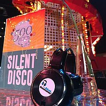 Silent Discomania Event Equipment